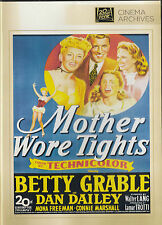 BETTY GRABLE: MOTHER WORE TIGHTS New but UNSEALED Region 1