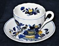 Copeland Spode England BLUE BIRD S3274B (Fine Stone) Coffee Tea Cup & Saucer Set