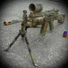 "Steampunk gun AIRSOFT SPRING TOY BB pellet cosplay 34"" Vampire Zombie camouflage"