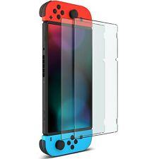 2x For Nintendo Switch - folie Displayschutz Glas Folie  Schutzfolie