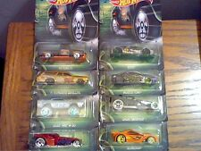 2017 HOT WHEELS HAPPY HALLOWEEN SET OF 8 CARS IN HAND AND READY TO SHIP SEE PICS