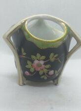 Holmes & Son Longton  Rare Oriental Hand painted  Rare Blossom Vase