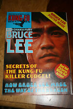 Kung Fu Monthly Poster Magazine no 21 - Excellent condition!! Bruce Lee KFM
