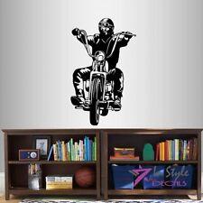 Vinyl Decal Motorcycle Biker Racer Extreme Sport Bike Chopper Moto Sticker 1420