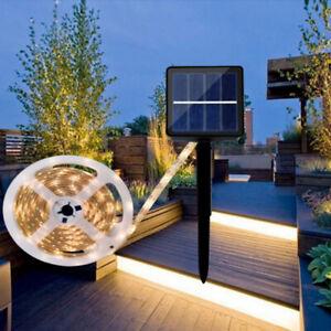 90 LED Waterproof Solar Powered Light Strip Romantic Decoration Fairy Lights 3M