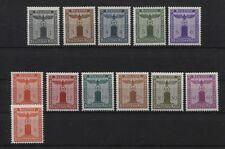 Deutsches Reich Dienst 155-165 mit 160y postfrisch (B03789)