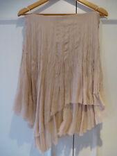 Chloé blush pink silk skirt UK 10