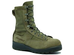 Belleville 675ST Men's USAF 600g Insulated Waterproof Steel Toe Boots Shoes 12R