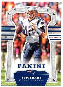2017 Panini Base Card Tom Brady Patriots