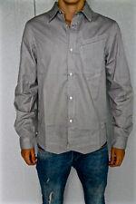 camicia a righe nero M+F GIRBAUD congiunzione taglia S nuovo/ETICHETTA val