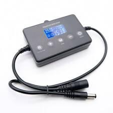 LED Dimmer Timer Modulator for Aquarium Fish Tank Light Timing Controller Black