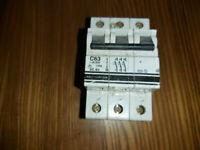 Crabtree Polestar 32Amp Type C Single Pole MCB BS3871 Circuit Breaker C32 M9