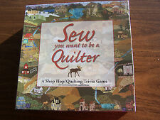 MODA Sew You Want to be a QUILTER T12 quilt sew fabric trivia game gift