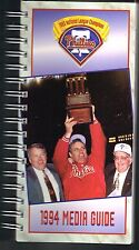 1994 Philadelphia Phillies MLB Baseball Media GUIDE
