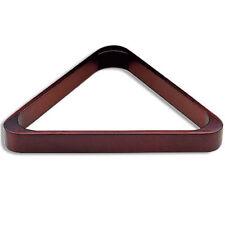 Triangle en bois pour billes billard de diametre 57mm