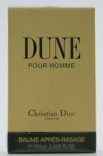 (prezzo base 129,90 €/100ml) CHRISTIAN DIOR DUNE 100ml AFTER SHAVE BALM DOPOBARBA
