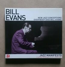 Bill Evans ‎ / New Jazz Conceptions... (CD Used) Delta Leisure Group 26619 (B8)