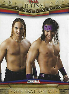 Generation Me TNA Icons 2010 Tristar Trading Card #60 The Young Bucks AEW