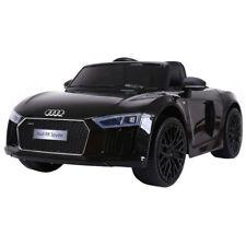 Auto Macchina Elettrica Audi R8 Nera 12V 1 Posto Per Bambini