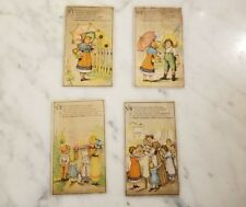 Antique Scull's Champion Coffee Victorian Trading Cards