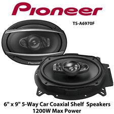 "Pioneer TS-A6970F - 6"" x 9"" Coaxial 5-Way Car Shelf Speakers 1200W Total Power"