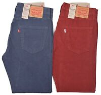 Levis 502 Men's $59.50 Regular Taper Corduroy Stretch Pants Choose Color & Size