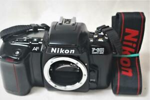 [EXC++++] Nikon F-601 Quarts Date AF 35mm Film Camera Body w/Strap From Japan