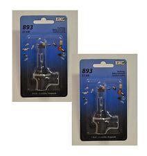 Eiko Stock 893 37.5W Two Bulbs Fog Light Replacement Plug Play OE Lamp Halogen