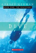 DIVE: THE DISCOVERY Book 1 Gordon Korman Paperback Kids Chapter Book Adventure