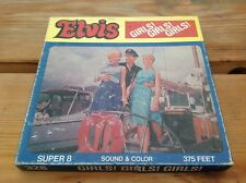 Vintage Super 8 mm Film Elvis In GIRLS! GIRLS! GIRLS! Colour/Sound 375 Feet