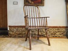 More details for chair rare primitive west country windsor ash elm george iii c1790