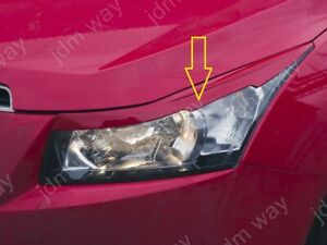 Fit For Chevrolet Cruze 2008-2015 Headlights Covers Eyebrows Eyelids With Relief