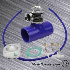 """SILVER BOV BLOW OFF VALVE 30PSI+3"""" SILICONE COUPLER KIT UNIVERSAL FOR FRS GT86"""