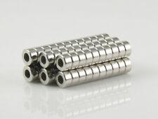 10 x Geocaching Neodym Magnet Loch, BohrungD6 x H3 mit 3mm Senkung Ringmagnet