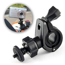 Motorcycle Bike Handlebar Tripod Mount Holder Mobius Sport Action Camera Contour