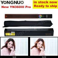 YONGNUO YN360III Pro LED Video RGB Light Handheld Stick Tube 3200K-5600K Upgrade