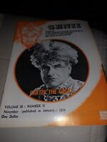 Carter the Great Issue 1974 Vintage Genii Magazine