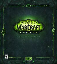 NEW World of Warcraft: Legion Collector's Edition (Windows/Mac, 2016)