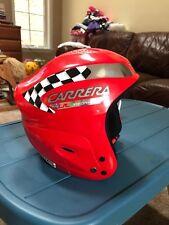 CARRERA Explorer 2.3 Red  Youth Snowboard/ Ski Helmet Adjustable Band Size Large