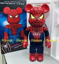 Medicom Be@rbrick Marvel Super Hero Amazing Spiderman 1000% Spider-Man Bearbrick