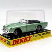 Atlas 1/43 Dinky toys 110 Aston Martin Green Diecast Models Car Collection