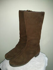 Morlands real sheepskin leather boots, women's size 8.5 US, made in England