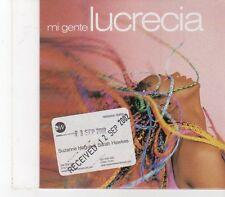 (FX102) Lucrecia, Mi Gente - 2002 DJ CD