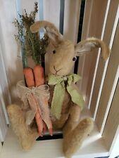 Handmade Primitive Spring Rabbit Doll~Easter~Bunny