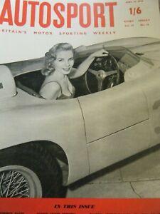 1957 EQUIPE SPARTA RALLYING A LE MANS FRAZER NASH + MEIKLE JET CAR KIRKSTOWN