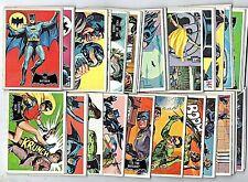 1966 Topps Batman Black Bat Complete Set (1-55) Averaging VG/EX