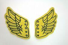 Jeremy Scott Tennis Shoe Angel Wings Pair Lace On Yellow Black Detail Sneakers 7