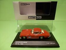 WHITEBOX 186666 MERCEDES BENZ 300 SL 1954 GULLWING - RED 1:43 - NEAR MINT IN BOX