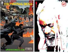WALKING DEAD #183 A & B VARIANT COVER SET SIENKIEWICZ IMAGE COMICS KIRKMAN HOT!