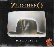 ZUCCHERO - Papà Perché CD SINGLE 3TR Europe 1995 (POLYDOR)